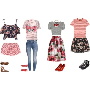 stripes&floral