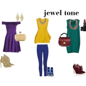 how to color mix jewel tone