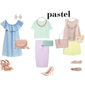 how to color mix pastel